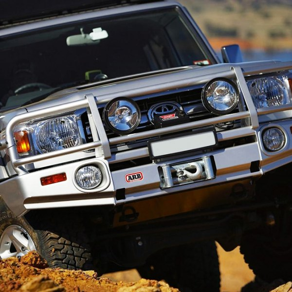 ARB® - Deluxe Front Bumper on Toyota Land Cruiser