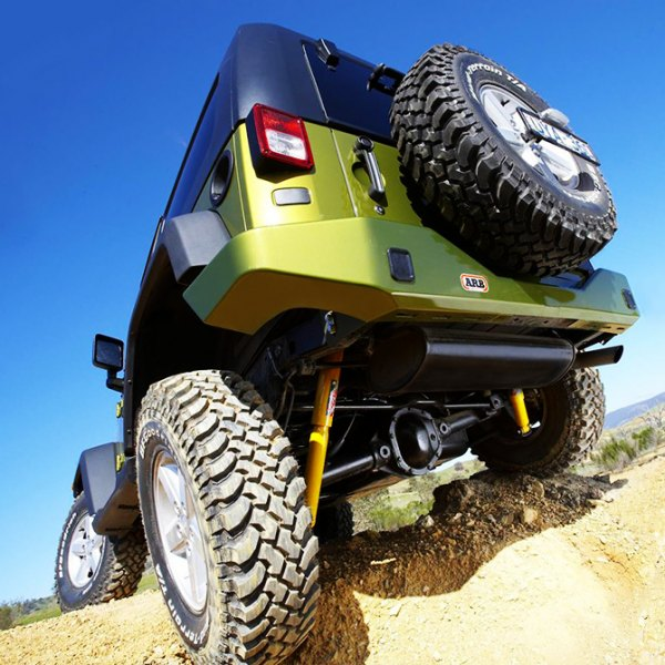 ARB® - Rear Bumper on Jeep Wrangler