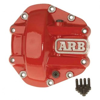 ARB® - Red Differential Cover For Nissan M226 Axles