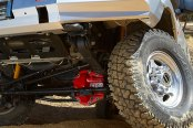 ARB® - Red Differential Cover on Ford F350
