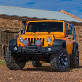 ARB® - Full Width Front HD Winch Bumper with Rock Bar