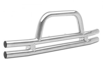 ARIES® - 3 Stainless Steel Front Tubular Bumper