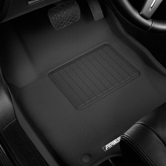 Aries® - StyleGuard™ 1st and 2nd Row Black Floor Liners Set
