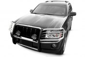 Aries® - One Piece Stainless Steel Grille GuardJeep Grand Cherokee