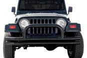 "Image may not reflect your exact vehicle! Aries® - 3"" Black Front Tubular Bumper"