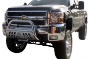 "Aries® - 3"" Stainless Steel Bull BarChevy Silverado"