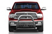 "Aries® - 4"" Big Horn Stainless Steel Bull BarDodge Ram"