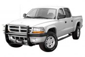 Aries® - One Piece Stainless Steel Grille GuardDodge Dakota