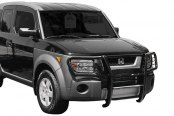 Aries® - One Piece Black Powdercoated Grille GuardHonda Element