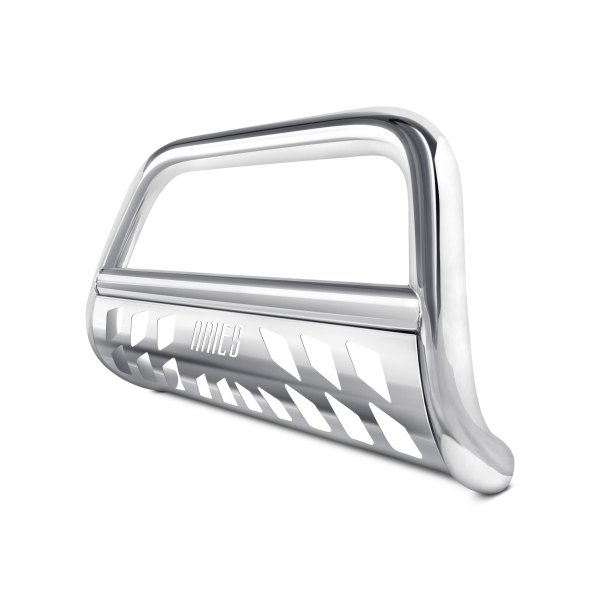 "Image may not reflect your exact vehicle! Aries® - 4"" Big Horn Stainless Steel Bull Bar"