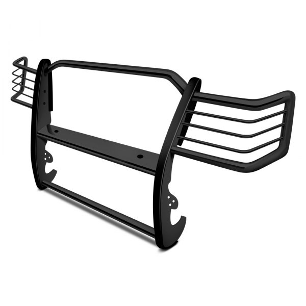 Image may not reflect your exact vehicle! Aries® - One Piece Black Powdercoated Grille Guard