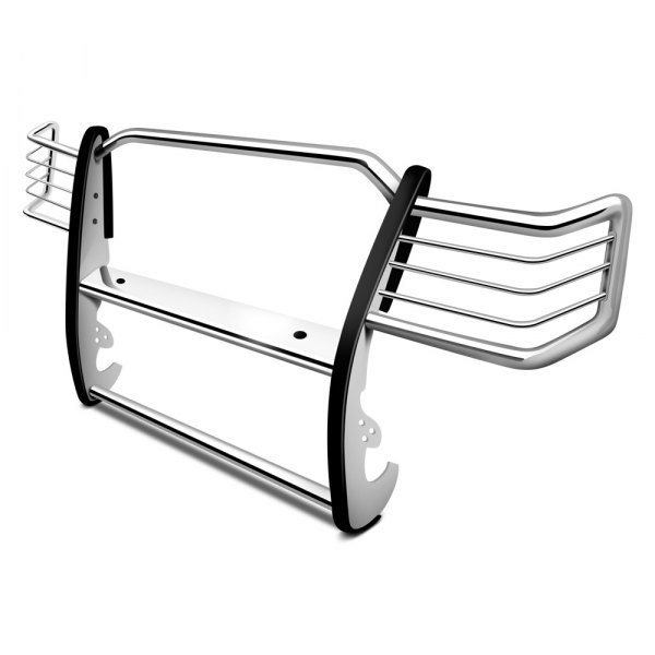 Aries® - Polished 1-Piece Design Grille Guard
