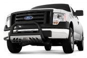 "Aries® - 3"" Stealth Series Black Powdercoated Bull Bar"