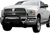 "Aries® - 3"" Black Powdercoat Bull BarDodge Ram"