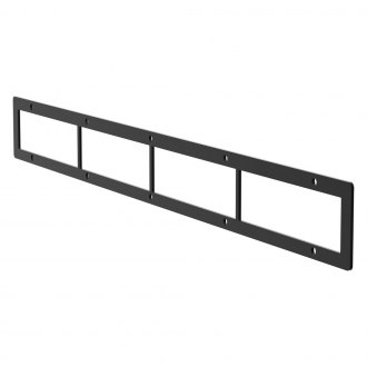 "Aries® - 30"" Black Open Face Cover Plate For Pro Series Grille Guard"