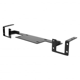 Aries® - Black Winch Receiver Plate Bracket