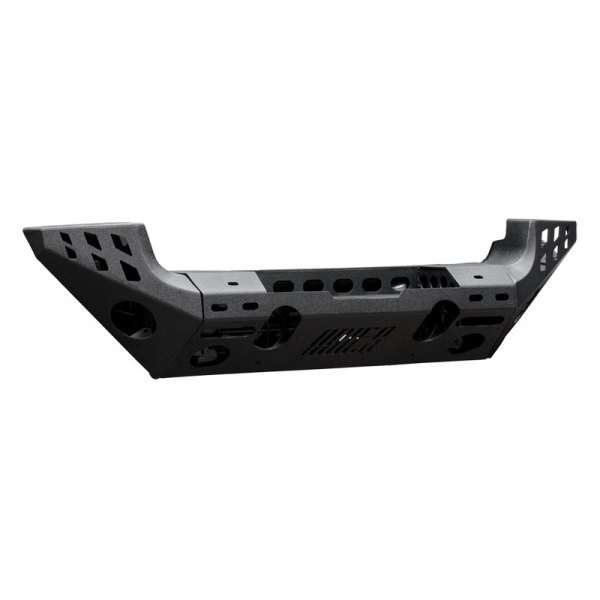 Aries® - Full Width Front Modular Black Side Extension Bumper Kit