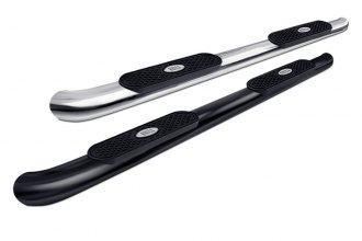 "Image may not reflect your exact vehicle! Aries® - 4"" Cab Length Oval Side Bars"