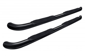 "Image may not reflect your exact vehicle! Aries® - 3"" Black Round Side Bars"