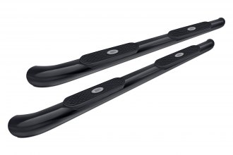 "Aries® S222011 - 4"" Black Powdercoat Oval Side Bars"