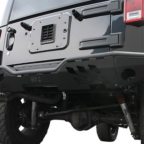 Aries® - Black Rear Replacement Bumper