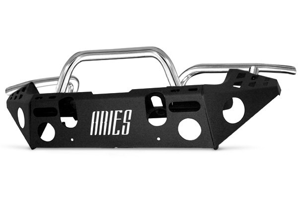 Aries® - Silver Front Aluminum Replacement Bumper