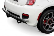 Image may not reflect your exact vehicle! Aries® - Black Rear Bumper Bar