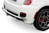 Image may not reflect your exact vehicle! Aries® - Stainless Steel Rear Bumper Bar