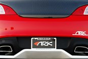 ARK Performance® - S-FX Carbon Fiber Side Rear Bumper Fin Spoiler