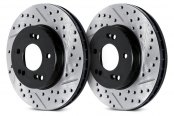ARK Performance® - Drilled and Slotted Front Rotors
