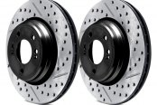 ARK Performance® - Drilled and Slotted Rear Rotors