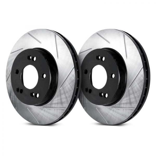 ARK Performance® - Slotted 1-Piece Rear Brake Rotors