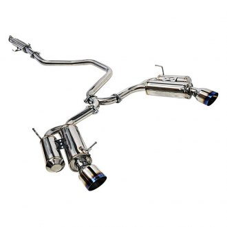 ARK Performance® - DT-S™ 304 SS Cat-Back Exhaust System with Split Rear Exit
