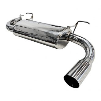 ARK Performance® - DT-S 304 SS Axle-Back Exhaust System with Polished Tip