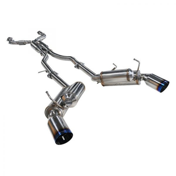 ARK Performance® - GRiP™ 304 SS True Dual Cat-Back Exhaust System