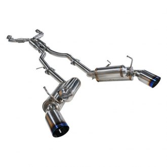 ARK Performance® - GRiP™ 304 SS True Dual Cat-Back Exhaust System with Burnt Tip