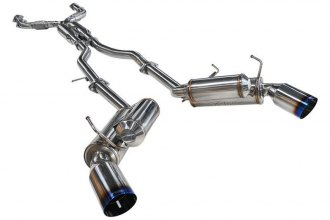 ARK Performance® - GRiP Stainless Steel Cat-Back Exhaust System with Burnt Tip