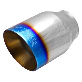 ARK Performance® - 304 SS Round Resonated Angle Cut Weld-On Exhaust Tip