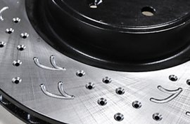 ARK Performance® - Drilled adn Lotted Rotor