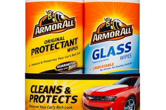 Armor All® - Protectant Wipes and Glass Wipes Twin Pack