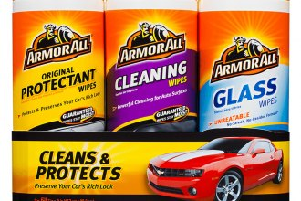 Armor All® - Protectant, Cleaning and Glass Wipes Triple Pack