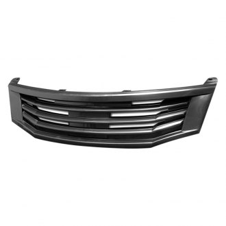 Armordillo® - 1-Pc TM Style Black Horizontal Billet Main Grille