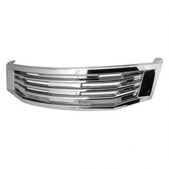 Armordillo® - 1-Pc TM Style Chrome Horizontal Billet Main Grille