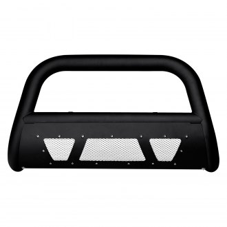 "Armordillo® - 3"" MS Series Black Bull Bar with Skid Plate"