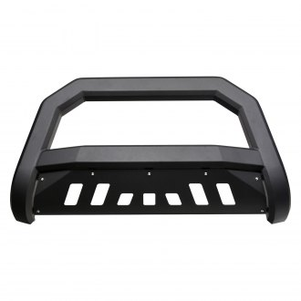 "Armordillo® - 3"" AR Series Black Bull Bar with Skid Plate"