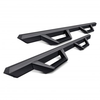Armordillo® - AR Series Cab Length Black Drop Steps
