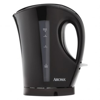 aroma     1 5 liter  6 cup  cordless electric water kettle aroma    kitchen appliances   cookers  u0026 steamers coffee  u0026 tea      rh   carid com