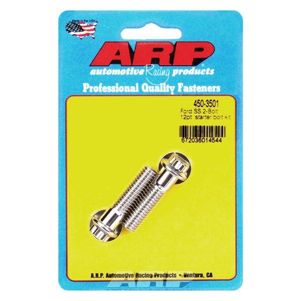 Full Size Start Stainless Steel 12-Point Polished ARP 450-3501 Starter Bolts
