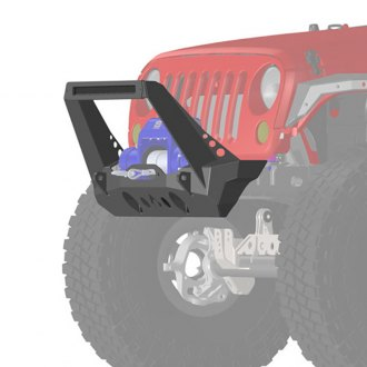 Artec Industries® - Nighthawk Stubby Front Winch HD Bumper with Stinger