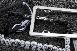 Are Custom License Plate Frames the Best Bling For Under $100?
